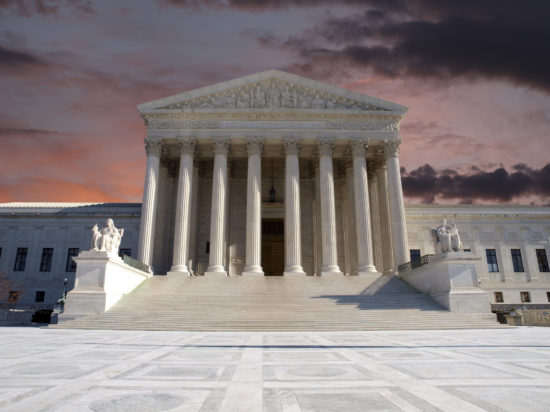 Supreme Court Sunrise
